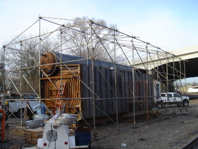 Scaffold Building (before)